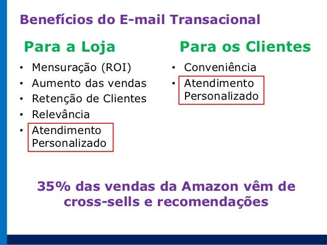 Exemplo de E-mail Transacional