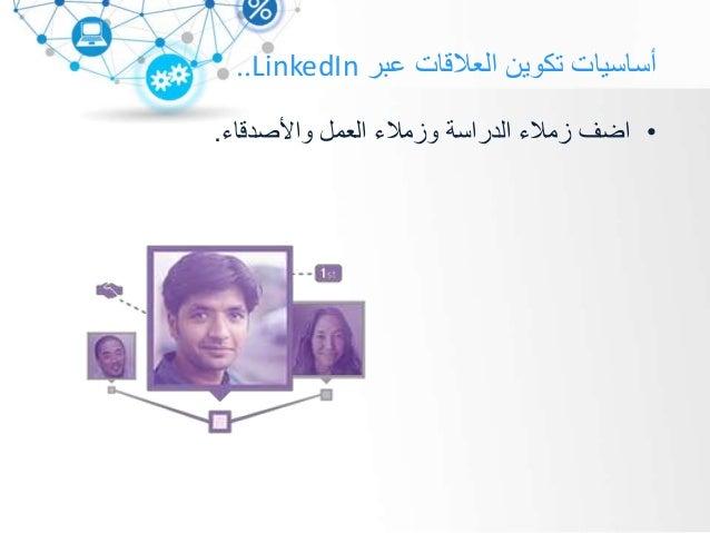 عبر العالقات تكوين أساسياتLinkedIn.. شخصي بشكل تعرفهم ال أشخاص بإضافة تقم ال.