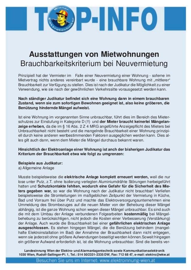 Landesinnung Wien der Elektro- und Alarmanlagentechnik sowie Kommunikationselektronik 1030 Wien, Rudolf-Sallinger-Pl. 1, T...