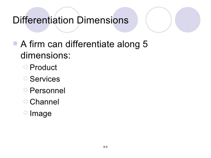 personnel differentiation in marketing