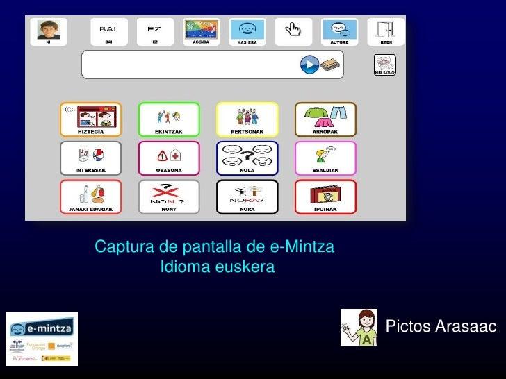 e-Mintza ejemplo Slide 2