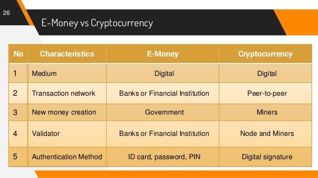 """Résultat de recherche d'images pour """"emoney versus cryptocurrencies"""""""