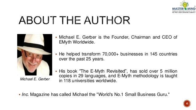 The E-Myth Revisited (Audiobook) by Michael E. Gerber