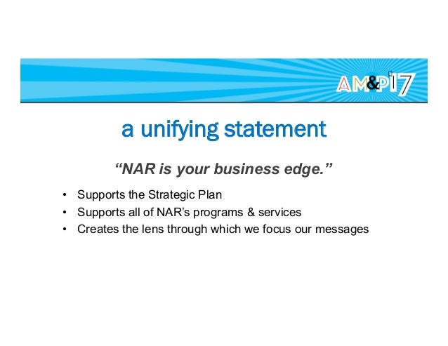 a first step One, weekly, all-member e-newsletter • Reduced NAR e-newsletters by 50% • Reduced email volume to each audi...