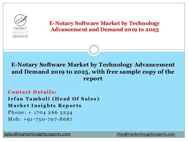 Contact Details: Irfan Tamboli (Head Of Sales) Market Insights Reports Phone: + 1704 266 3234 Mob: +91-750-707-8687 E-Nota...