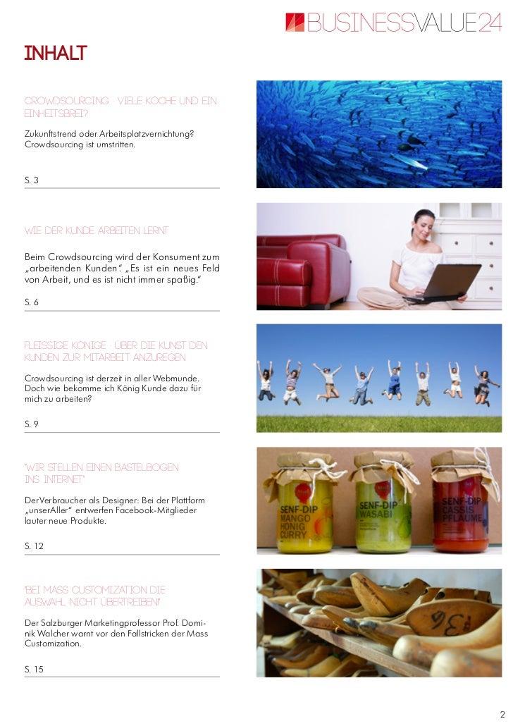 E paper crowdsourcing-finalCrowdsourcing - Themenspecial vom Online-Wirtschaftsmagazin BusinessVALUE24 Slide 3
