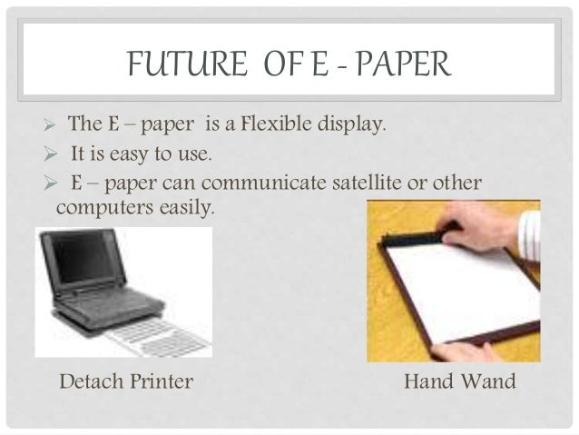 Electronic Paper Turns the Page