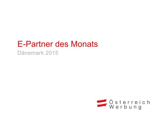 """Das E-Marketing-Paket """"E-Partner des Monats"""" erlaubt monatlich einem touristischen Partner eine hervorgehobene und effizie..."""