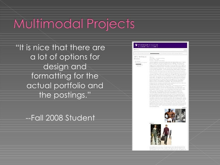 """<ul><li>"""" It is nice that there are a lot of options for design and formatting for the actual portfolio and the postings.""""..."""