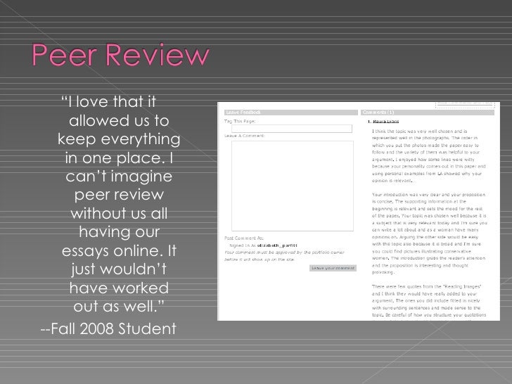 """<ul><li>"""" I love that it allowed us to keep everything in one place. I can't imagine peer review without us all having our..."""