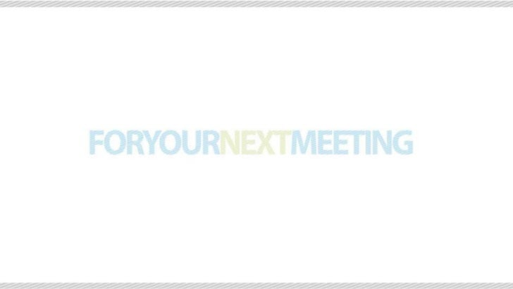 OUR SERVICES• Full service meeting technology provider• Strong focus towards PCO, associations & conferences• Own develope...