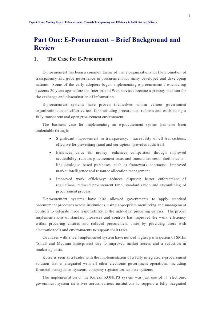 essay on transparency in public procurement in india Conflict of interest in public procurement explore explore by interests during the procurement process may help to increase public procurement transparency and prevent conflict of interest and essay on corruption in in india chapter 4.
