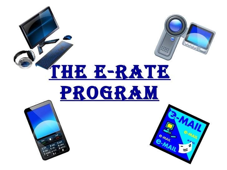 The E-Rate   Program