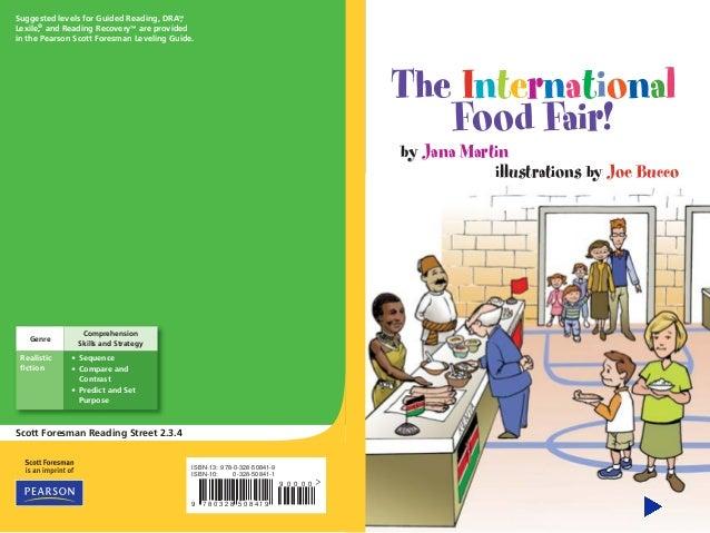 the international food fair rh slideshare net pearson scott foresman leveling guide grade 2 pearson scott foresman leveling guide grade 1