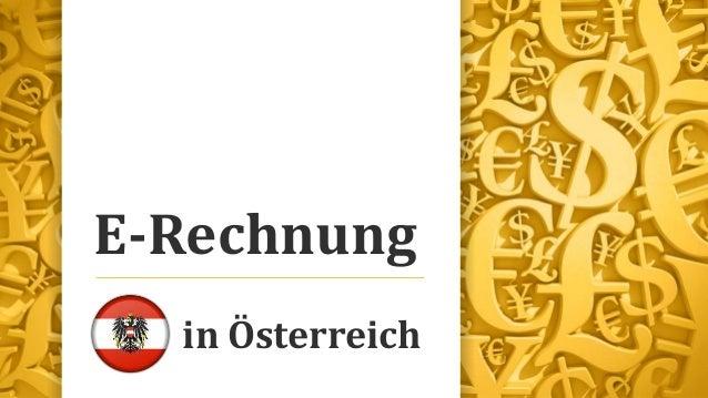 E-Rechnung in Österreich