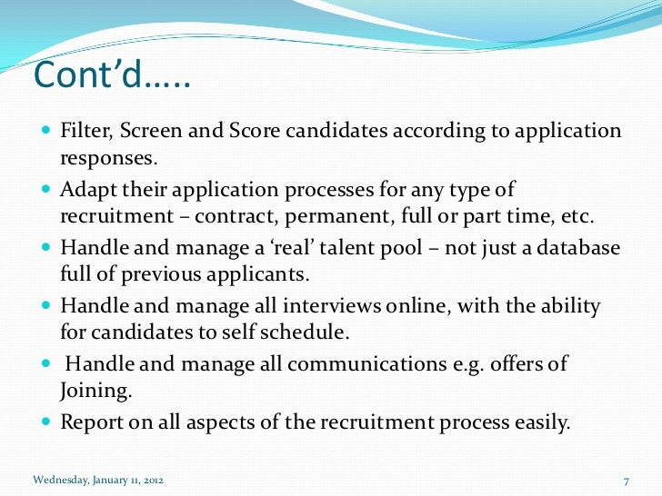 e recruitment system Using hris for a recruitment system by: dave rietsema hris , or human resources information systems, can make the recruiting process much easier for many organizations.