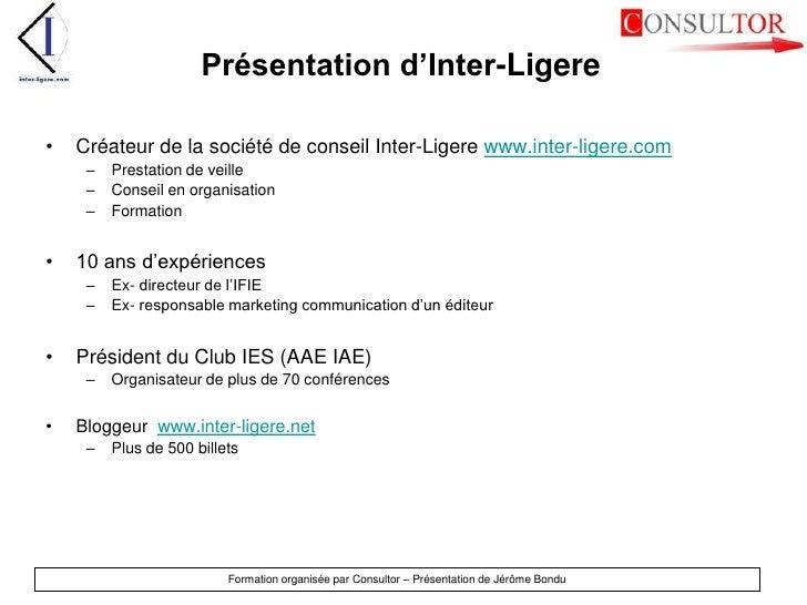 Présentation d'Inter-Ligere<br />Créateur de la société de conseil Inter-Ligerewww.inter-ligere.com<br />Prestation de vei...