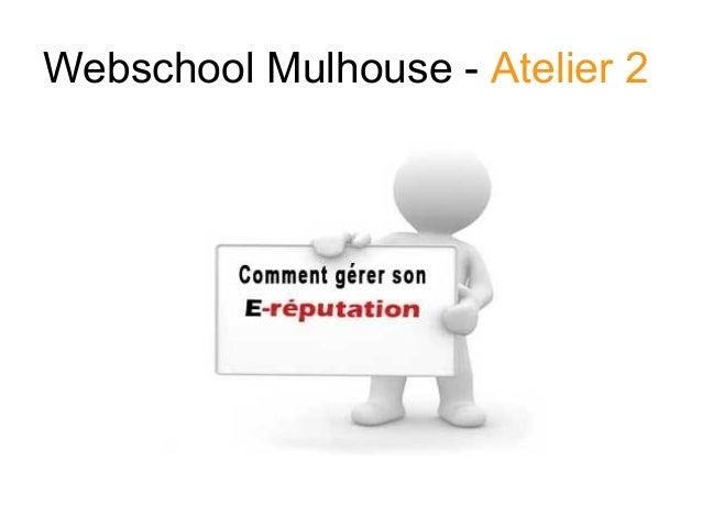 Webschool Mulhouse - Atelier 2