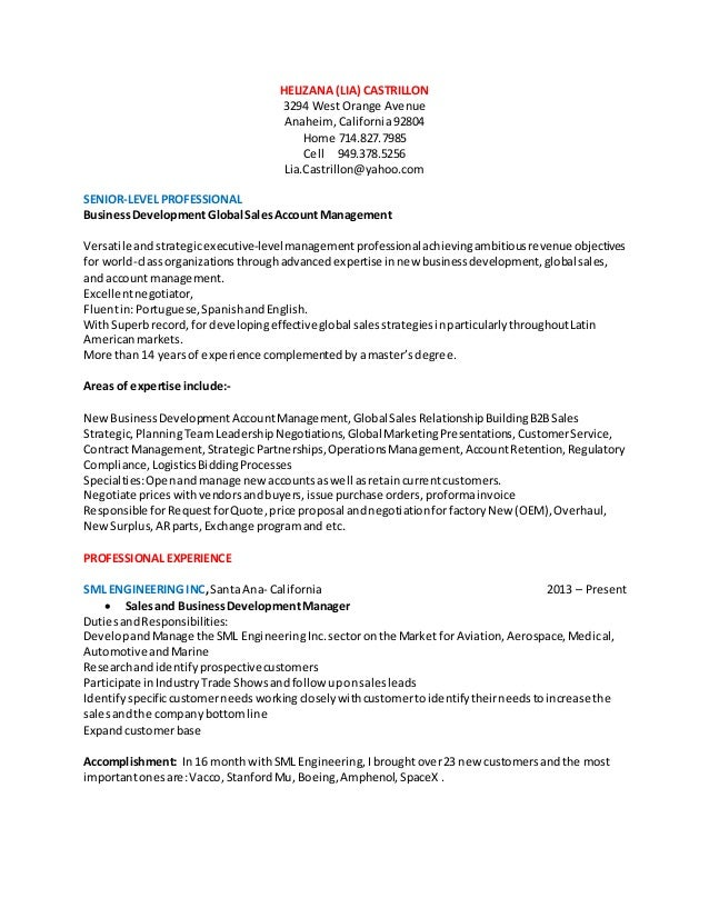 e resume in word format january 2015