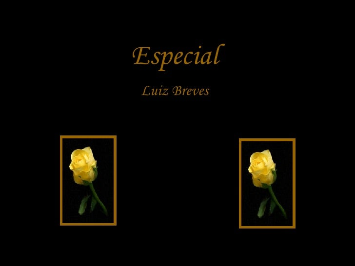 Especial Luiz Breves