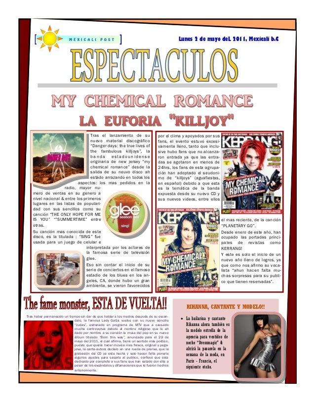 Lunes 2 de mayo deL 2011, Mexicali b.C                                  Tras el lanzamiento de su                       po...