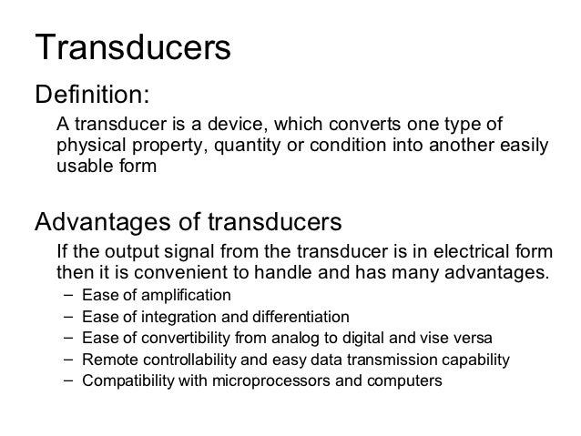 Voltage divider circuits input transducers input transducers are.