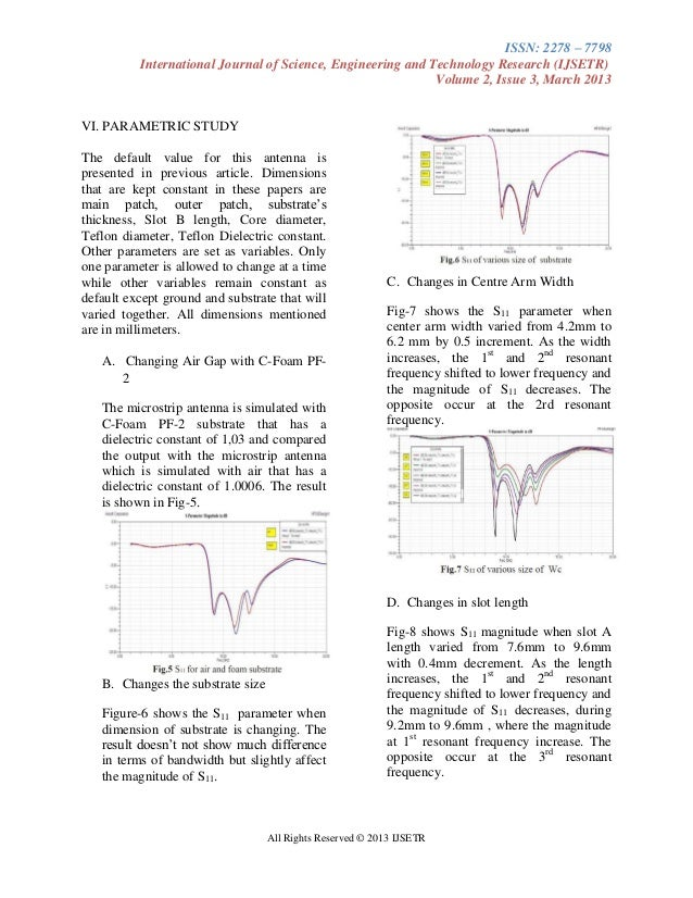 research papers antennas This research paper intended to widely cover on refraction in photonic band gap materials at microwave frequencies more so in relation to antennas application.