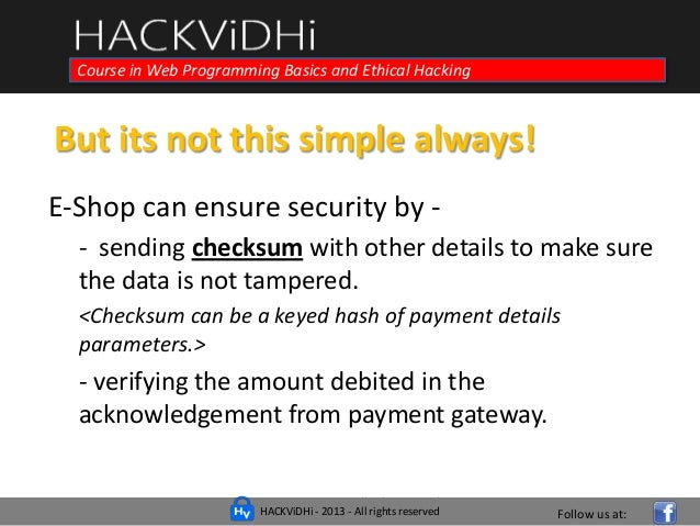 How To Hack Payment Gateways