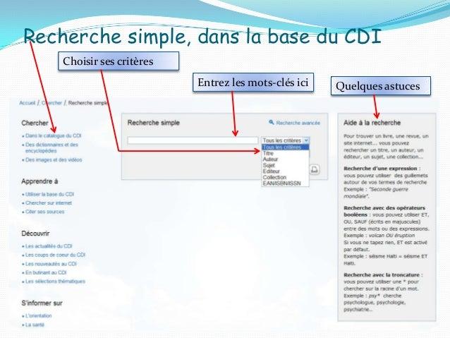 Résultat de la recherche Possibilités d'affiner la recherche1 fiche de documentNombre de résultats