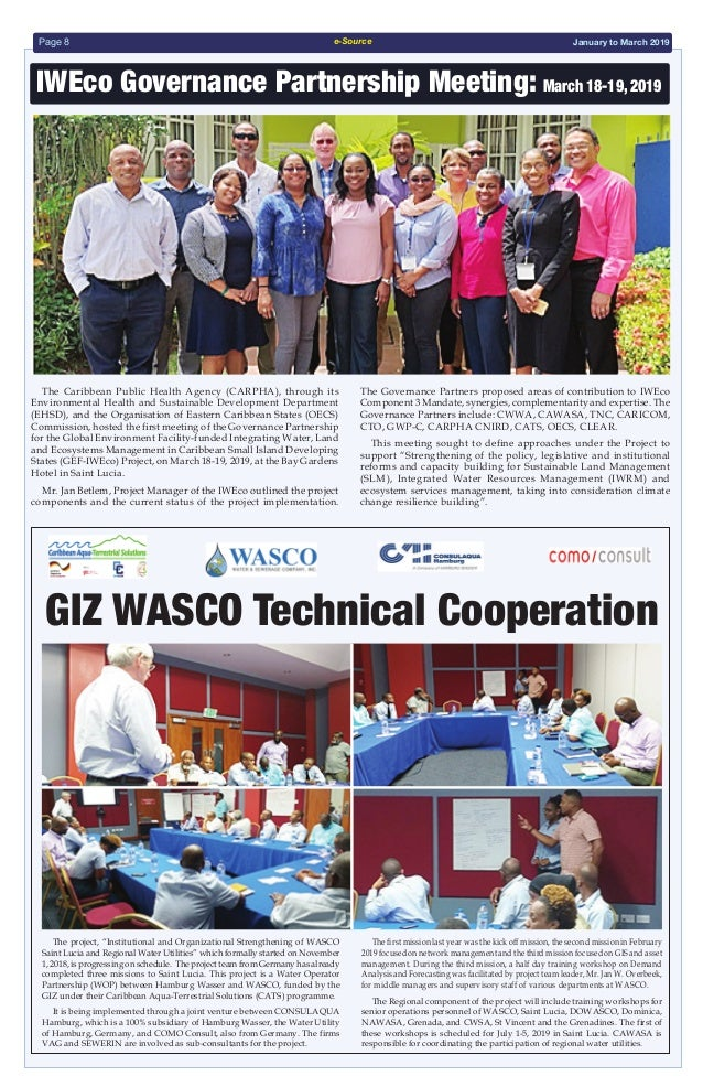 CAWASA e-Source Newsletter January-March 2019