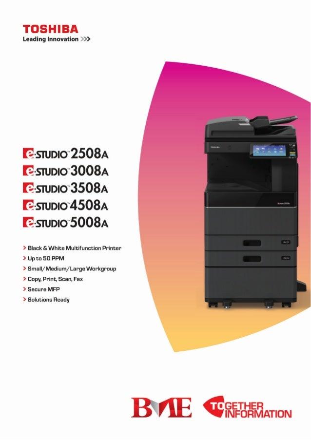 Toshiba E STUDIO 2508A 3008A 3508A 4508A 5008A Series Copier Machines