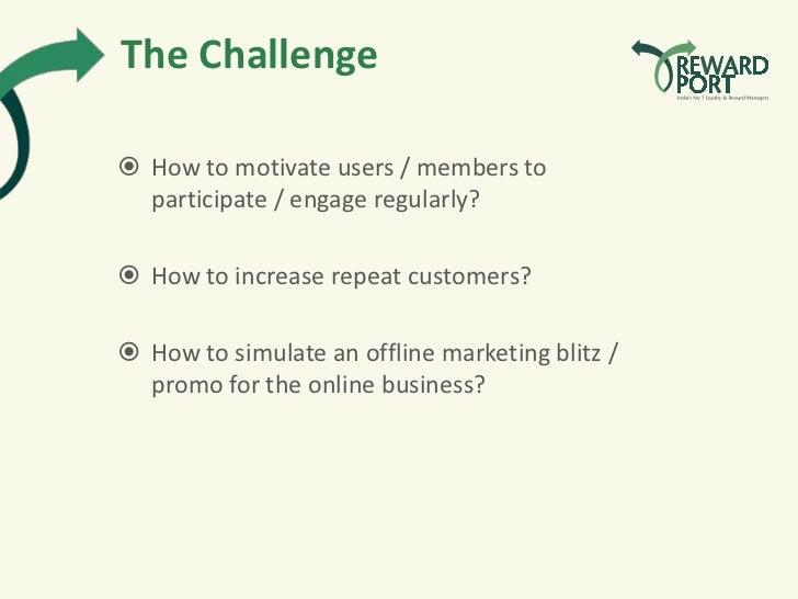Online Promotions - RewardPort  Slide 2