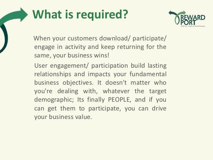 Online Promotions - RewardPort  Slide 3