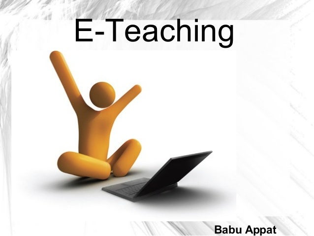 E-Teaching Babu Appat