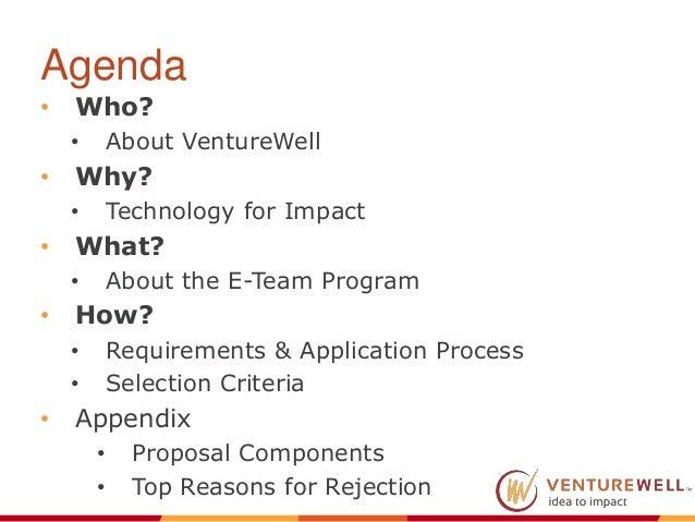 E-Team Grant Program Webinar Presentation Slide 2