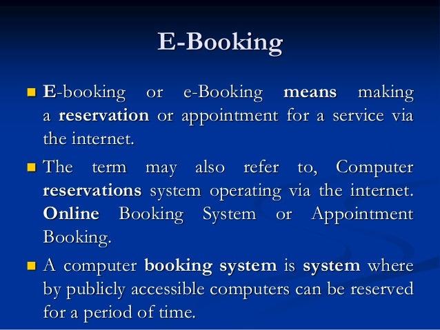 E ticketing