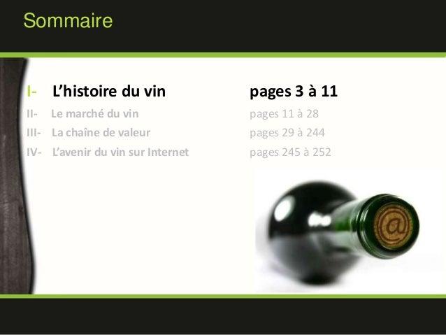 E-Transformation du secteur du Vin - MBAMCI - PT2011 Slide 3