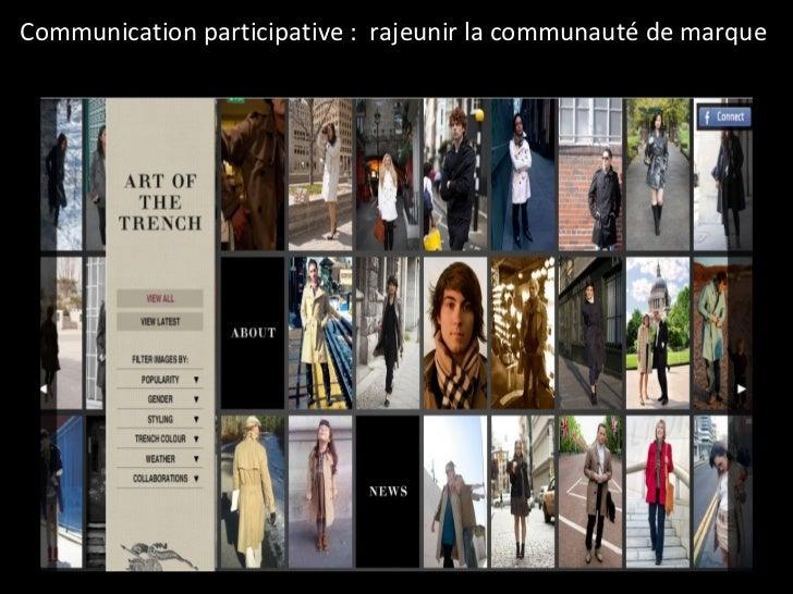 Communication participative :  rajeunir la communauté de marque