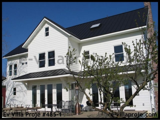 2 Katlı 5 Yatak Odalı, Geniş Veranda ve Dik Çatılı  272 m2 Kapalı Alanlı Dubleks Villa Projemiz  http://www.e-villaproje.c...