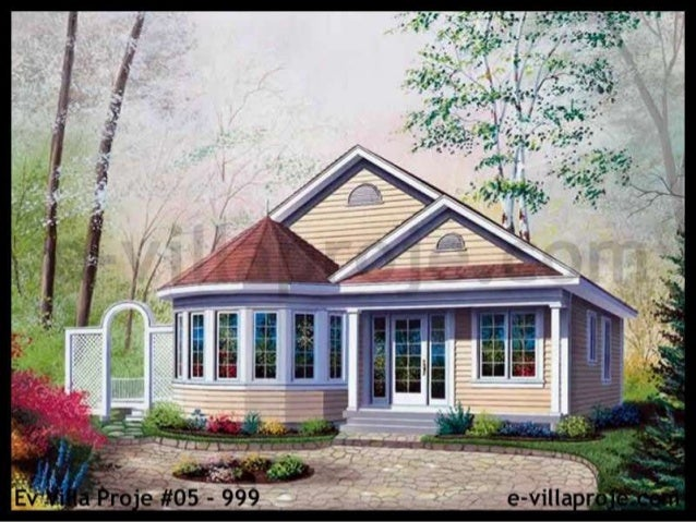 En Güzel Ev Villa Projeleri Servilla çelik Villa Sistemleri