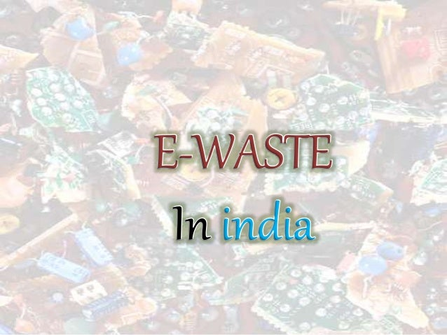  The term E-Waste applies to all the wastes from or caused by Electronic items.  Technological development is the main r...