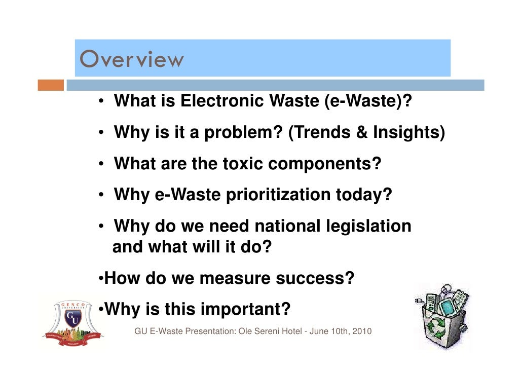 Image Result For Why Electronic Waste Is A Problem
