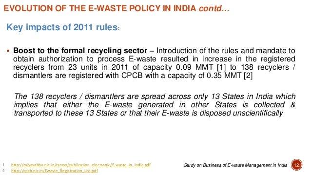 E-waste Management Workshop: Dr. Pramod Modak