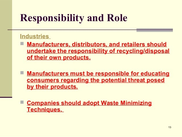 importance of waste management in india International journal of scientific and research publications, volume 3, issue 3, march 2013 1 issn 2250-3153 wwwijsrporg problems of solid waste management in indian cities.