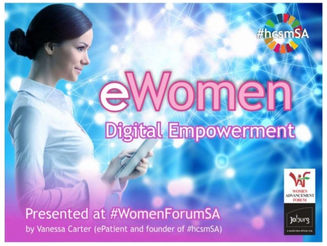 e-Women and Sustainable Development in South Africa