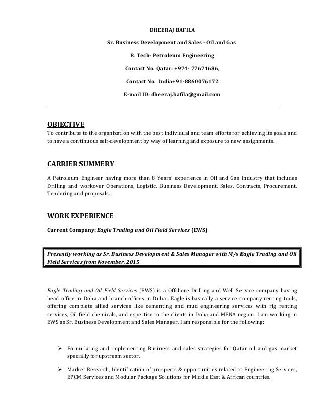 Business Development Executive Oil And Gas Job Description Job Retro