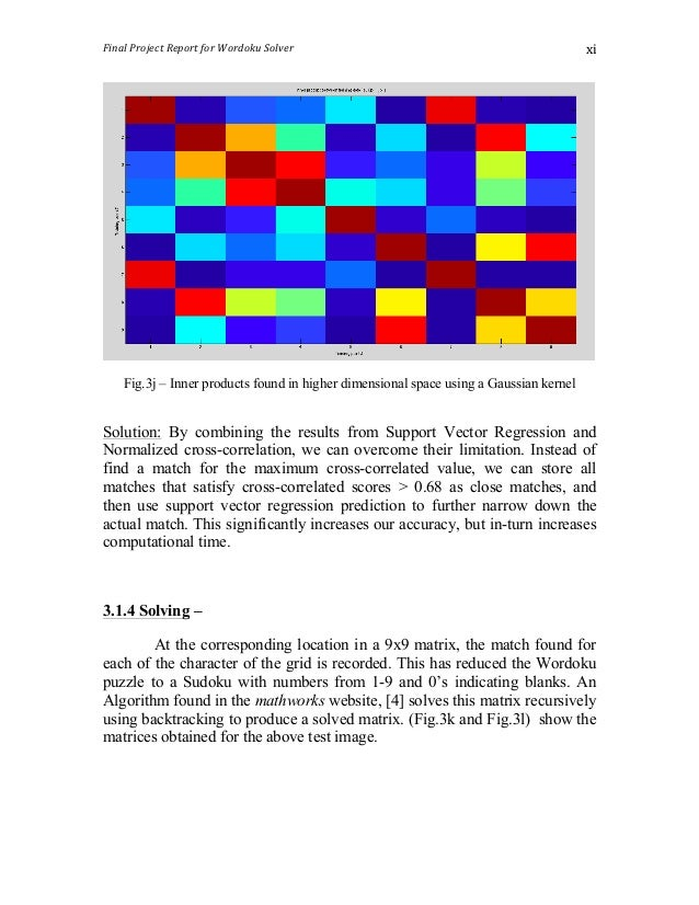 wordoku puzzle solver image processing project