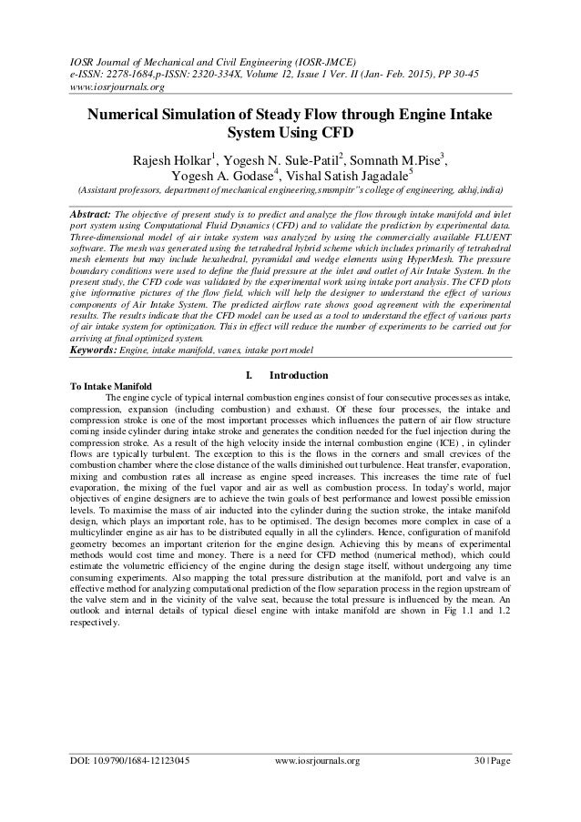 IOSR Journal of Mechanical and Civil Engineering (IOSR-JMCE) e-ISSN: 2278-1684,p-ISSN: 2320-334X, Volume 12, Issue 1 Ver. ...