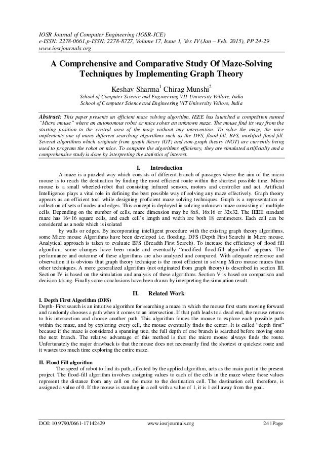 IOSR Journal of Computer Engineering (IOSR-JCE) e-ISSN: 2278-0661,p-ISSN: 2278-8727, Volume 17, Issue 1, Ver. IV (Jan – Fe...