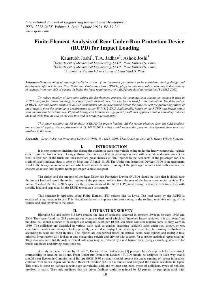 International Journal of Engineering Research and DevelopmentISSN: 2278-067X, Volume 1, Issue 7 (June 2012), PP.19-26www.i...